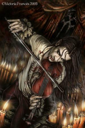 violin herido victoria frances