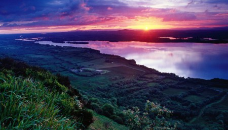 Sunset-Across-Lower-Lough-Erne-Fermanagh-Ireland